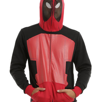 Marvel Deadpool Pack Back Full-Zip Hoodie