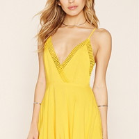 Crocheted Cami Mini Dress | Forever 21 - 2000171395