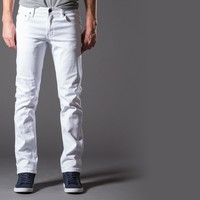 [True Grit] Slim Jeans in White