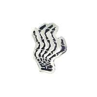 Cool Try Skeleton Hand Logo Lapel Pin (Limited Edition)