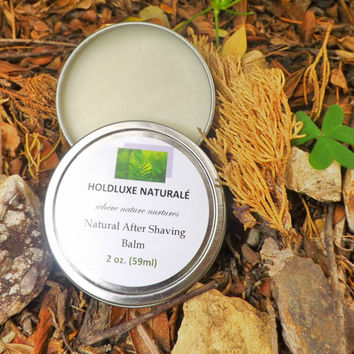 Natural After Shaving Balm – Small Batch Handmade – Essential Oils – Shea Butter Based- Natural After Shaving Balm  for All Skin Types