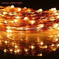 33 Ft 10m 100 LEDs 5Modes Christmas Outdoor String Lights Waterproof Copper Wires Fairy Lights Decoration Wedding Home Party