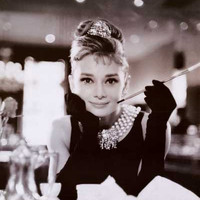 Audrey Hepburn Breakfast at Tiffany's Poster 24x36