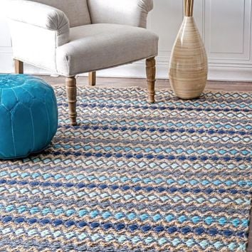 nuLOOM Ellamae Diamond Chevron Area Rug