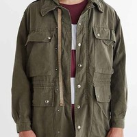 Urban Renewal Vintage Hooded Swiss Parka- Green