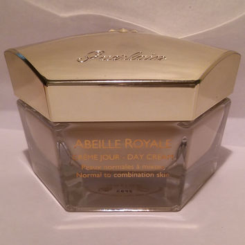 Guerlain Abeille Royale Creme Jour-Day Cream Normal to Combination Skin 1.7 fl.oz