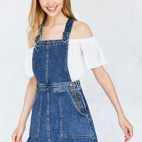 Cooperative Denim A-Line Jumper Mini Dress - Urban Outfitters