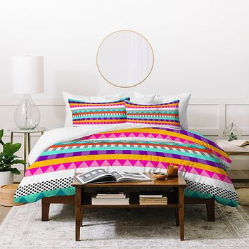 Elisabeth Fredriksson Happy Stripes 2 Duvet Cover