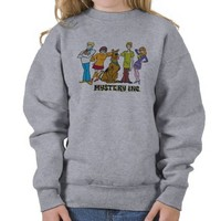 Whole Gang 12 Mystery Inc Pull Over Sweatshirt from Zazzle.com