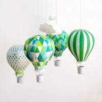 Hot Air Balloon Kit - Emerald City
