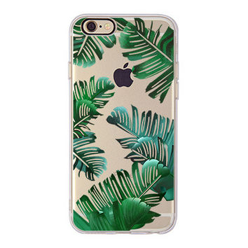 Royal Palm Soft Case For iPhone 6 6S 6Plus 6SPlus Aloha