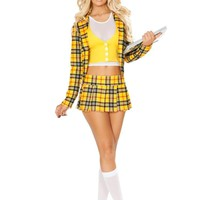 Roma Costume 4830 - 3Pc School Girl Without A Clue