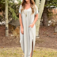 Limitless Maxi Dress - Heather Grey