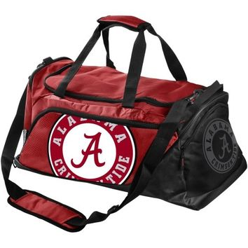 Alabama Crimson Tide Medium Duffle Bag - Crimson