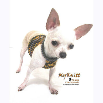 Dog Harness Pet Collar Dog Clothes Custom Made harnesses Handmade Crochet DH3 - Free Shipping