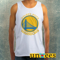Golden State Warriors Logo Clothing Tank Top For Mens