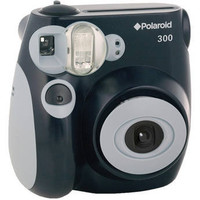 Polaroid 300 Instant Film Camera (Black)