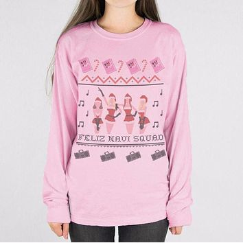 Mean Girls Feliz Navi Squad Long Sleeve Tee