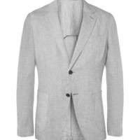 Our Legacy - Unstructured Linen Blazer | MR PORTER