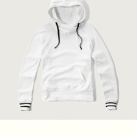 Crossover Hooded Sweatshirt