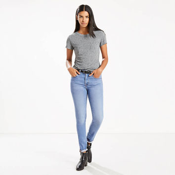721 High Rise Skinny Jeans - Medium Wash | Levi US Site