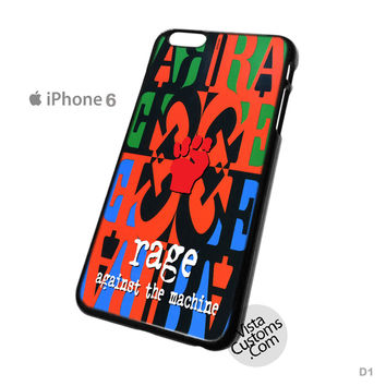 Rage Against The Machine Phone Case For Apple,  iPhone 4, 4S, 5, 5S, 5C, 6, 6 +, iPod, 4 / 5, iPad 3 / 4 / 5, Samsung, Galaxy, S3, S4, S5, S6, Note, HTC, HTC One, HTC One X, BlackBerry, Z10