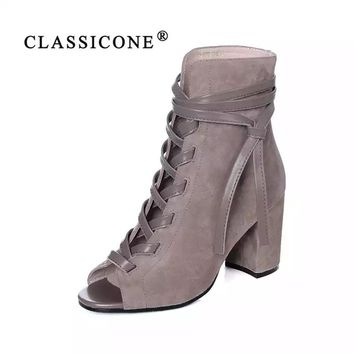Classicone women's Ankle boots