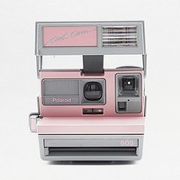 Impossible Project Polaroid 600 Pink Camera - Urban Outfitters
