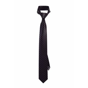 Black Pearl Dotted Tie