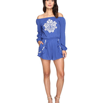 Lovers + Friends Carmella Romper Periwinkle - Zappos.com Free Shipping BOTH Ways