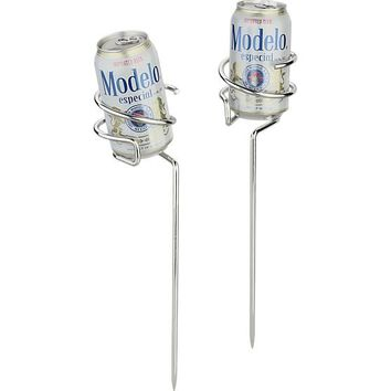 Steady Stick Beer Can Holders Set of Two
