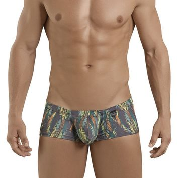 Clever 2393 Uptown Boy Latin Boxer Briefs Color Green