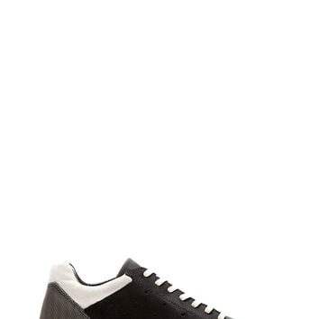 Rick Owens Black And White Sculpted Sole Adidas Edition Sneakers