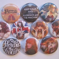 Florence And The Machine Pinback Buttons Badges Pins (pack of 10)