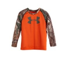 Under Armour Boys' Infant UA Real Tree Blaze LS T-Shirt