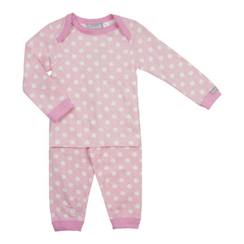 Coccoli Baby Girls' Dot Pajama