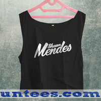 Shawn Mendes Womens Crop Tank
