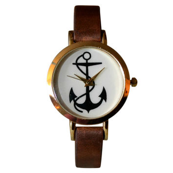 Anchor Bracelet Watch