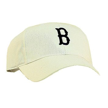 MLB Boston Red Sox Baseball Cap 100% Cotton by American Needle White