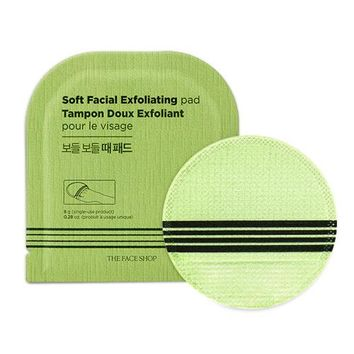 [THE FACE SHOP] Soft Facial Exfoliating Pad