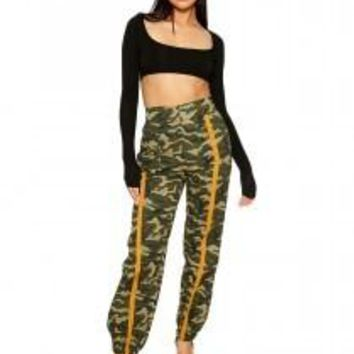 All Up On The Cam-O Pants - Bottoms - Womens