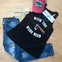 Wish You Were Beer Rainbow Tank