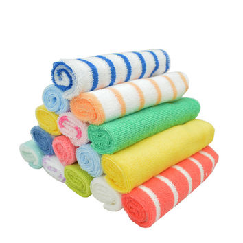 (8PCS/ LOT)Nursing towel baby bibs handkerchief  20*20CM cm baby dry towel YYT195