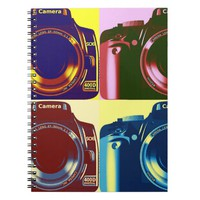 Photography Camera Notebook