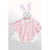 Organic Cotton Sleeping Friend for Baby - Pink Bunny
