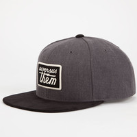 Us Versus Them Magnum Patch Mens Snapback Hat Grey One Size For Men 24798411501