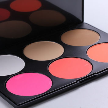 Professional 6 Color Bronzing Powder/Concealer Makeup Palette. = 1705270468