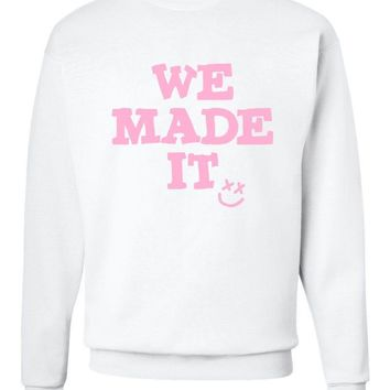 "Louis Tomlinson ""We Made It / Smile Logo"" Crew Neck Sweatshirt"
