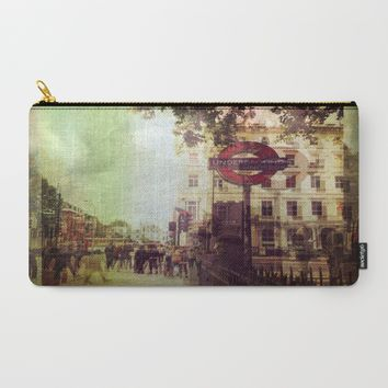 London Street Life Carry-All Pouch by ALLY COXON | Society6