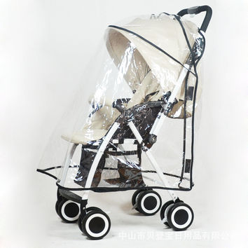 Baby trolley full cover rain cover [10150764684]